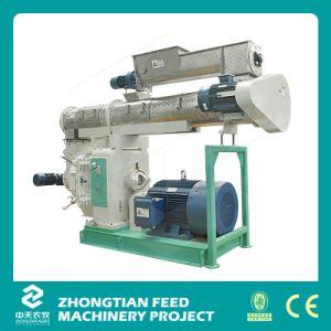 Ce aprobada 1-4t/h Pellets de aserrín de madera que hace la máquina
