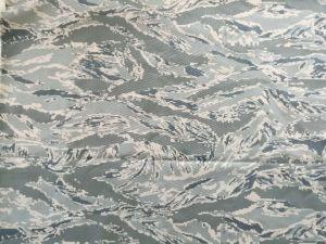 N6 em Nylon de alta forte mistura de algodão sarjado tecido camuflagem Militar