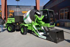 Fabrikant 6 van China Cbm Self-Loading Vrachtwagen van de Concrete Mixer