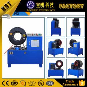 Máquina de crimpagem do tubo de aço galvanizado a retracção da máquina de crimpagem da mangueira hidráulica