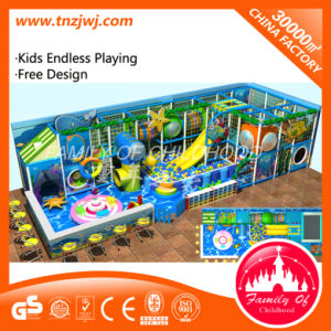 Familie van Apparatuur van het Spel van het Labyrint van de Jonge geitjes van het Thema van Kinderjaren de Oceaan Binnen voor Verkoop