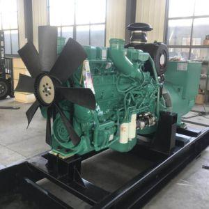 Weichai Engines이 강화하는 100kw 디젤 엔진 침묵하는 발전기