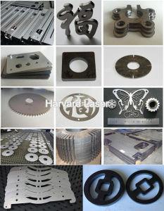 500W 1000Wの高速タイプ鋼鉄金属CNCレーザーの打抜き機