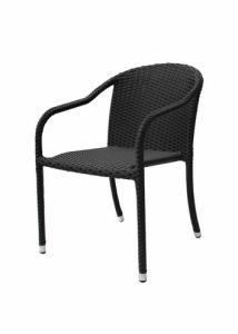 熱い販売のスタック可能屋外の庭の柳細工の藤の椅子