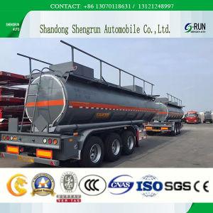 半40m3原油またはディーゼルまたはガソリンタンカーのトレーラトラック、ステンレス製のタンカーのトレーラー