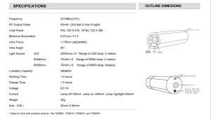 Small Mini камеры 2.4G 5V Беспроводной 6PCS LED/ИК-лампы мини-канализационные инспекционная камера видеонаблюдения
