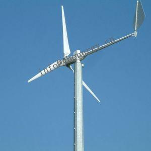 12V 24V 10W 20W 30W de de Verticale Turbine van de Wind van de As/Generator van de Wind