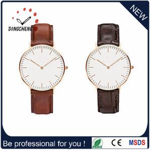Material de liga de design simples Diamond Watch para senhoras (DC-1087)