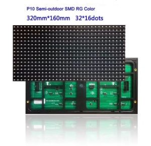 P10二重カラー屋外のLED表示モジュールスクリーン