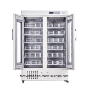 Grande capacidade novo laboratório farmacêutico frigorífico frigorífico para o sangue