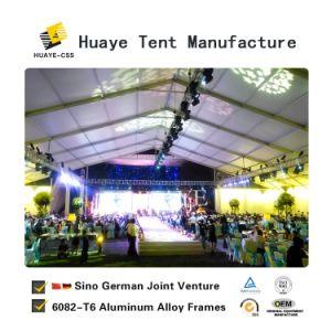 Retângulo grande evento da festa de casamento tenda de alumínio