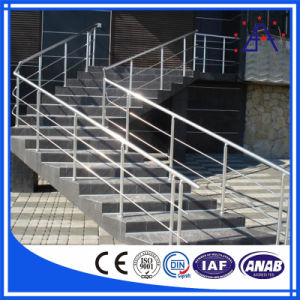 Perfil de aluminio para la pasarela elevada Esgrima