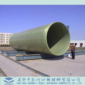 Tubi di materiale da otturazione della sabbia di FRP utilizzati al mare o al fiume della spiaggia