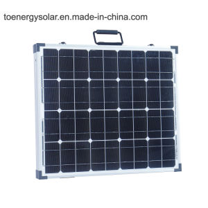 Nuevo tipo 100W Mono plegable Flexible Panel Solar, el módulo solar portátil para el exterior