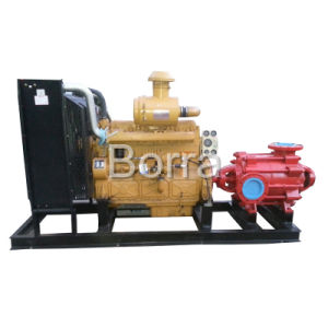 En varias etapas de la bomba de agua de alta presión gasóleo con remolque