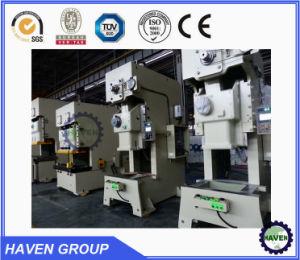 Geöffnete zurück mechanische Presse-lochende Maschine der Serien-J21