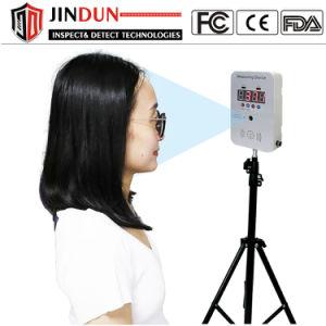 Cuerpo de portátil frente Análisis de la temperatura del Termómetro Digital por Infrarrojos tamaño mini