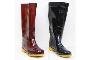 De goedkope Laarzen van de Regen van pvc Zwarte voor Waterdichte het Gebruik van de Bouw van Mensen
