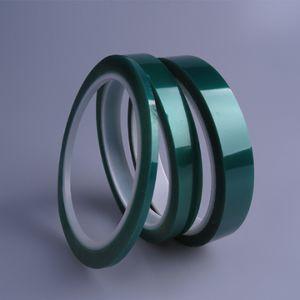 Silicone resistente ao calor Pet High Temp Adesivo Acrílico Isolamento do disco de camuflagem a película de poliéster fita para PCB, o Hardware do ACE