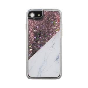Le liquide coule de cas de téléphone hybride Glitter Bling cas Téléphone cellulaire