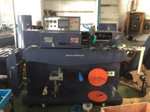(JD-1501) 가죽 끈, 고무 밴드, 방아끈 및 안전 벨트를 위한 기계를 인쇄하는 직물 옷 레이블 실크 스크린