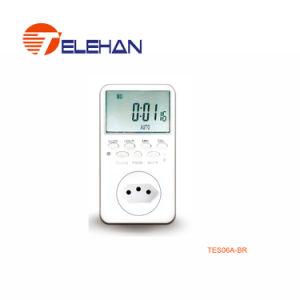 Tes06um temporizador digital semanal, temporizador digital, temporizador programável, display LCD Timer, 24horas, Temporizador Temporizador multifunção