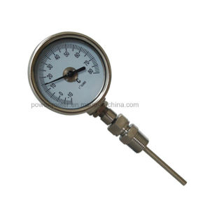 calibro omnidirezionale bimetallico di temperatura dell'acciaio inossidabile del termometro di 60mm
