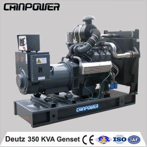 350kVA 280kw Open Type Diesel Generator met ATS Deutz Engine
