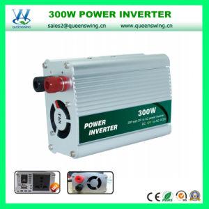 300W DC12V/24V AC220V Inversor de potência de alta freqüência (QW-300MUSB)