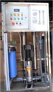RO planta purificadora de agua potable / Planta de Tratamiento de Agua RO Industrial