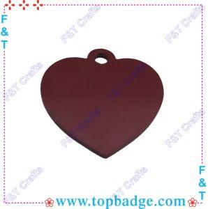 Coração Dog Tag (FTDT002H)