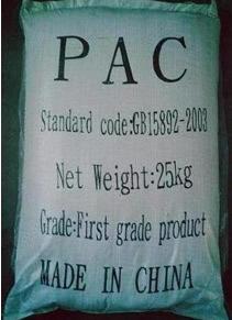 Het Chloride van het poly-aluminium voor Chloride van het Poly-aluminium van de Behandeling van het Water het Chemische (PAC)