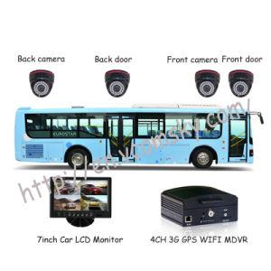 Schulbus-Fahrzeug bewegliches DVR-Vcomsky (4 Echtzeitüberwachung GPS H. 264 CH-3G)