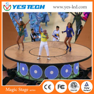 Faible consommation électrique P5 P6 SMD LED écran vidéo de sport