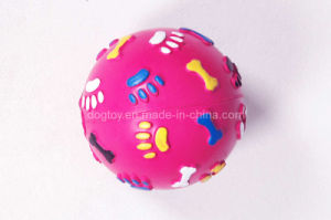"3.5 "" in Rubber Squeak Ball Dog Toy Rubber Toy"