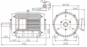 Basso-velocità Permanent Magnet Generator di 4kw 60rpm