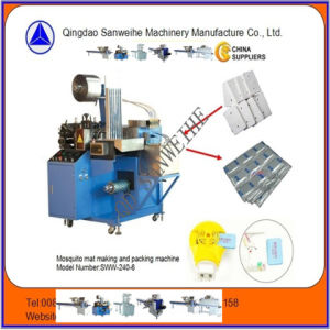 Sww-240 Tapete Mosquito máquina de embalagem Automática