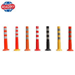 Preiswerter reflektierender Plastik-Belüftung-Verkehrs-warnender Schiffspollerdelineator-Pfosten zur Parken-Sicherheit