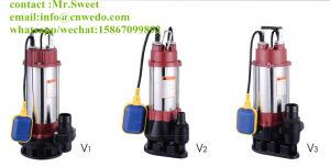 Versenkbare elektrische Wasser-Pumpe des Abwasser-V750, 1HP