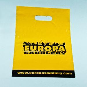 주문을 받아서 만들어진 디자인은 쇼핑 비닐 봉투를 위한 커트 손잡이 부대를 정지한다