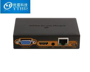 Luftbrücke WiFi HD Adapter WiFi zu HDMI/VGA Converter HD bis zu 1920X1080/30/60p