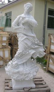 De marmeren Snijdende Antieke Gesneden Steen van het Beeldhouwwerk Standbeeld met het Zandsteen van het Graniet (sy-X1546)