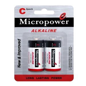 Mercury-freie Superenergien-alkalische trockene Batterie