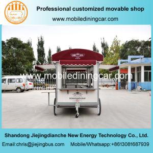Jiejing, мобильных продуктов питания тележки прицепа с оборудование предприятий общественного питания