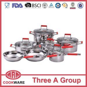 12ПК Посуда из нержавеющей стали, индуктивные Pots