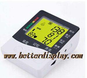 혈압 모니터를 위한 낮은 건전지 손가락 LCD 디스플레이