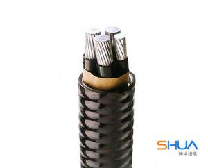 Сплава 6201 алюминиевых проводников AAAC кабель над ветровым стеклом