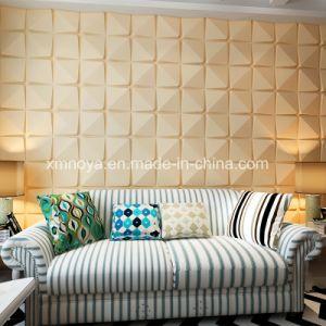 Isolation acoustique texturé panneau mural pour 3D'un canapé-décoratifs de fond