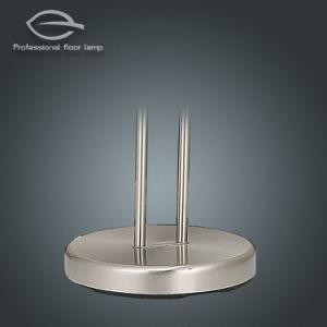 Deux bras plancher LED Lampe avec Interrupteur gradateur rotatif