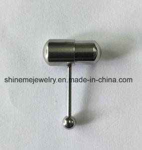 Os anéis da Lingueta de vibração Piercing jóias de Aço Inoxidável
